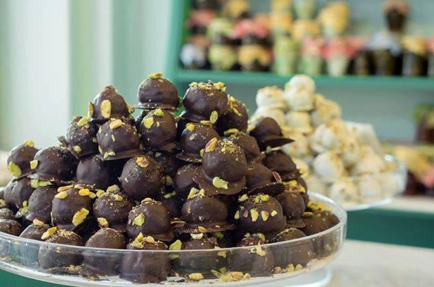 Σοκολατάκια φιστικιού Αιγίνης