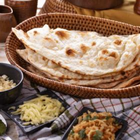 Ινδικές πίτες νααν