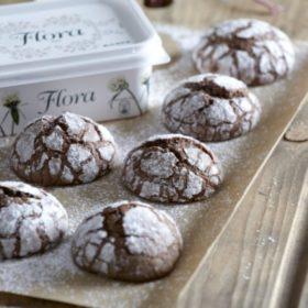 Μαλακά μπισκότα σοκολάτας κρακελέ