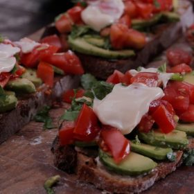 Sandwich με αβοκάντο