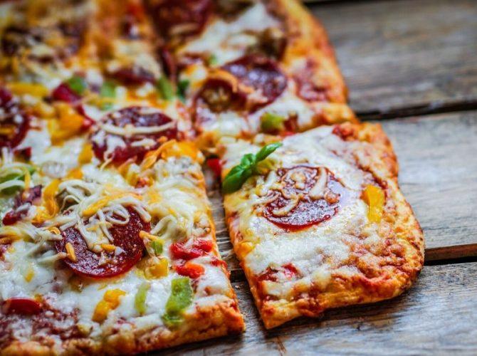 Σπιτική Πίτσα Special