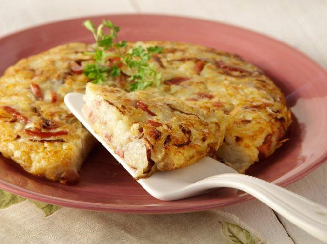 Ρόστι – τηγανίτα πατάτας με κρεμμύδι