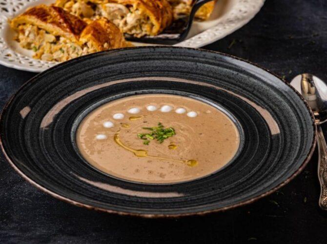 Σούπα κάστανο βελουτέ